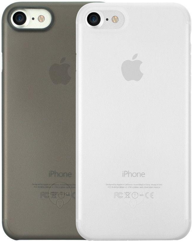 Ozaki O!coat 0.3 Jelly набор чехлов для iPhone 7, Clear BlackOC720CK