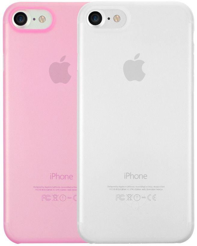 Ozaki O!coat 0.3 Jelly набор чехлов для iPhone 7, Clear PinkOC720CP