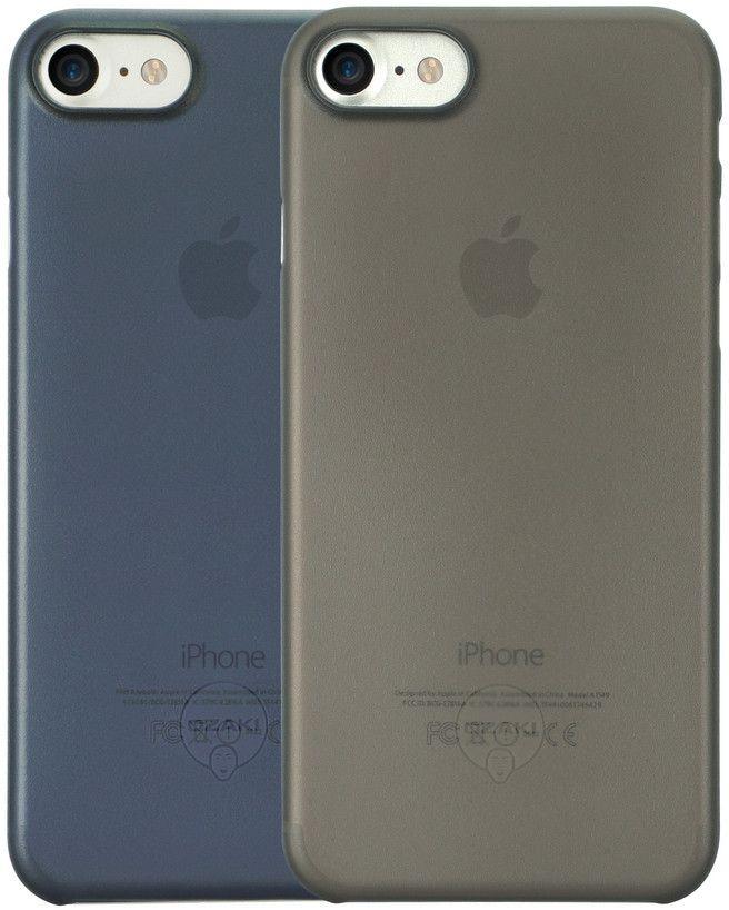 Ozaki O!coat 0.3 Jelly набор чехлов для iPhone 7, Black Dark BlueOC720KD