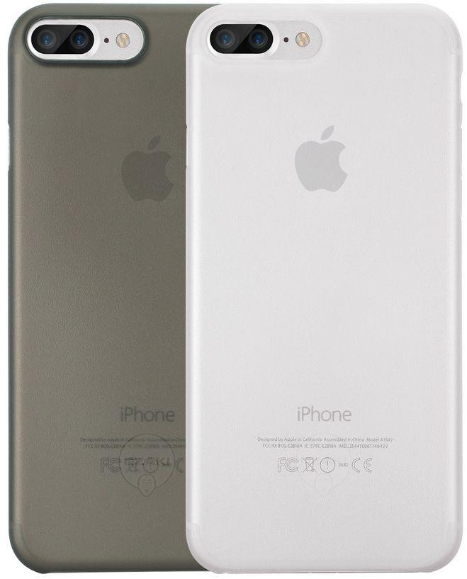 Ozaki O!coat 0.4 Jelly набор чехлов для iPhone 7 Plus, Clear BlackOC723CK