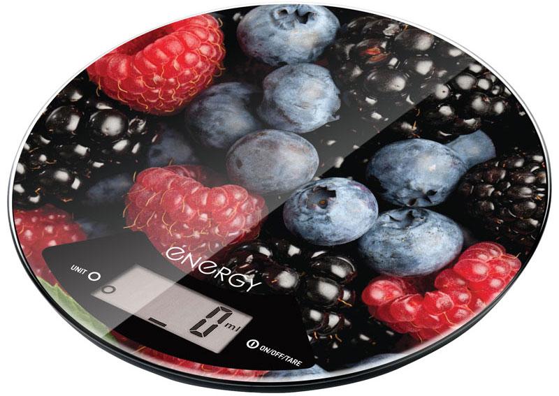 Energy EN-403 Ягоды кухонные весы54 11645Правильное соотношение ингредиентов - залог успеха при приготовлении блюда. Весы Energy EN-403 точно измерят массу каждого продукта. Платформа выполнена из прочных материалов, которые легко очищаются от загрязнений. Благодаря оригинальному дизайну данная модель станет стильным аксессуаром для любой кухни.