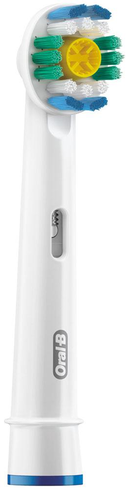 Сменные насадки для зубной щетки Oral-B 3D White, 2 шт4210201757757Oral-B – марка зубных щеток №1, рекомендуемая большинством стоматологов мира!* * по данным исследования, проведенного в 2011-2012 году агентством Attitude Measurement Corporation среди репрезентативной выборки стоматологов. Сменные насадки Oral-B 3D White разработаны для бережного удаления потемнений на поверхности эмали. Для более совершенной чистки и отбеливания за счет устранения пигментированного налета (от кофе, табака). Полирующая чашечка специально разработана для того, чтобы удерживать зубную пасту и бережно устранять окрашивание пока щетинки очищают от зубного налета. Совместима со всеми зубными щетками с технологией возвратно-вращательных движений. - Полирующая чашечка удаляет пигментированный налет - Голубые щетинки Indicator, обесцвечиваясь наполовину, сигнализируют об износе щетины и напоминают о необходимости замены насадки. - Для бережного отбеливания и полировки: полирующая чашечка в середине щеточного поля помогает восстановить...