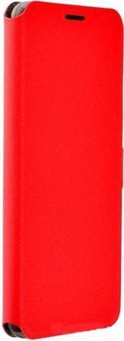 Prime Book чехол для ASUS Zenfone 3 Ze553Kl Zoom, Red2000000132211Чехол надежно защищает ваш смартфон от внешних воздействий, грязи, пыли, брызг. Он также поможет при ударах и падениях, не позволив образоваться на корпусе царапинам и потертостям. Чехол обеспечивает свободный доступ ко всем функциональным кнопкам смартфона и камере.