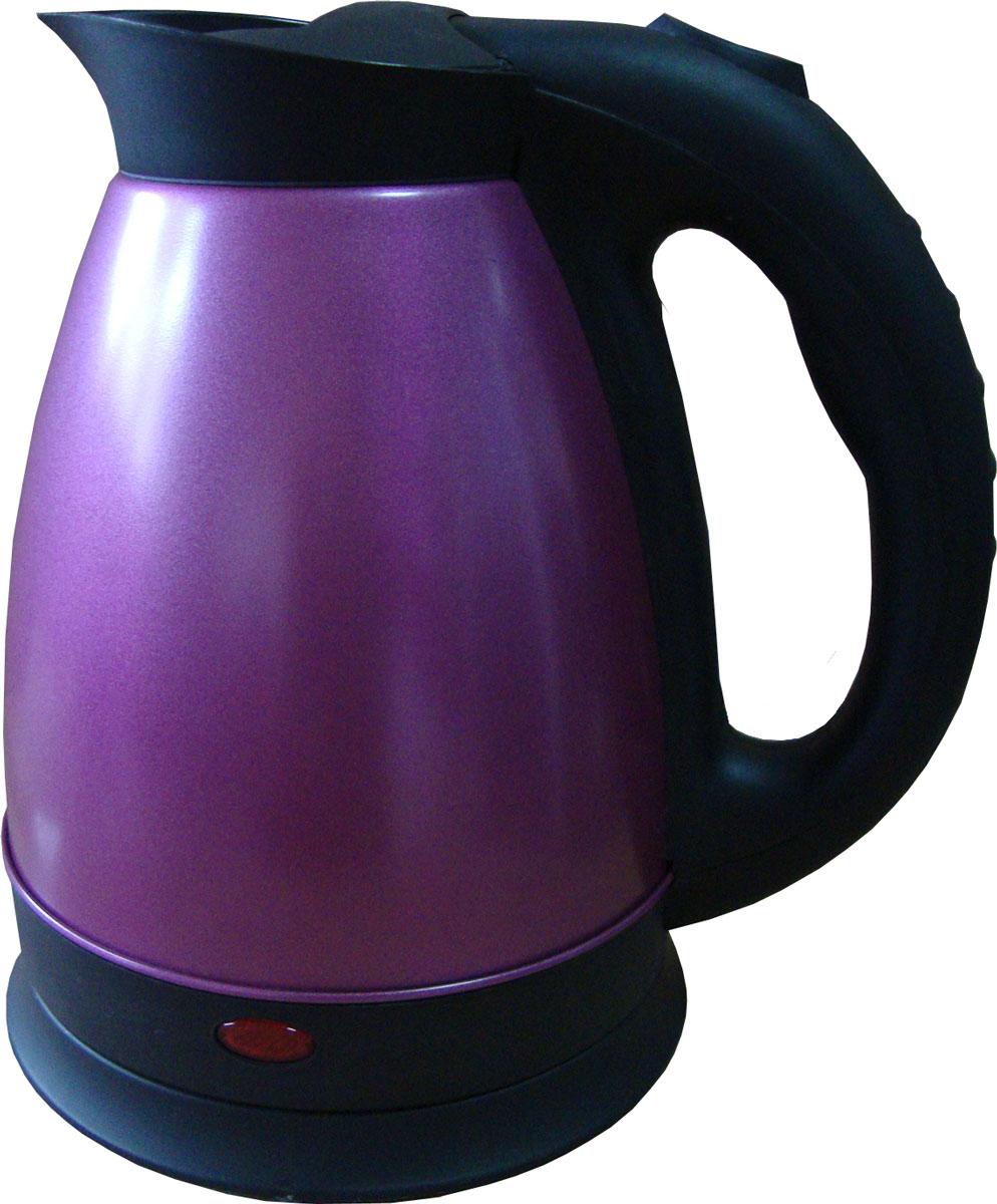 Irit IR-1326? Purple электрический чайник79 02094Электрический чайник Irit IR-1326 прост в управлении и долговечен в использовании. Корпус изготовлен из высококачественных материалов. Мощность 1500 Вт быстро вскипятит 1,8 литра воды. Беспроводное соединение позволяет вращать чайник на подставке на 360°. Для обеспечения безопасности при повседневном использовании предусмотрены функция автовыключения, а также защита от включения при отсутствии воды.