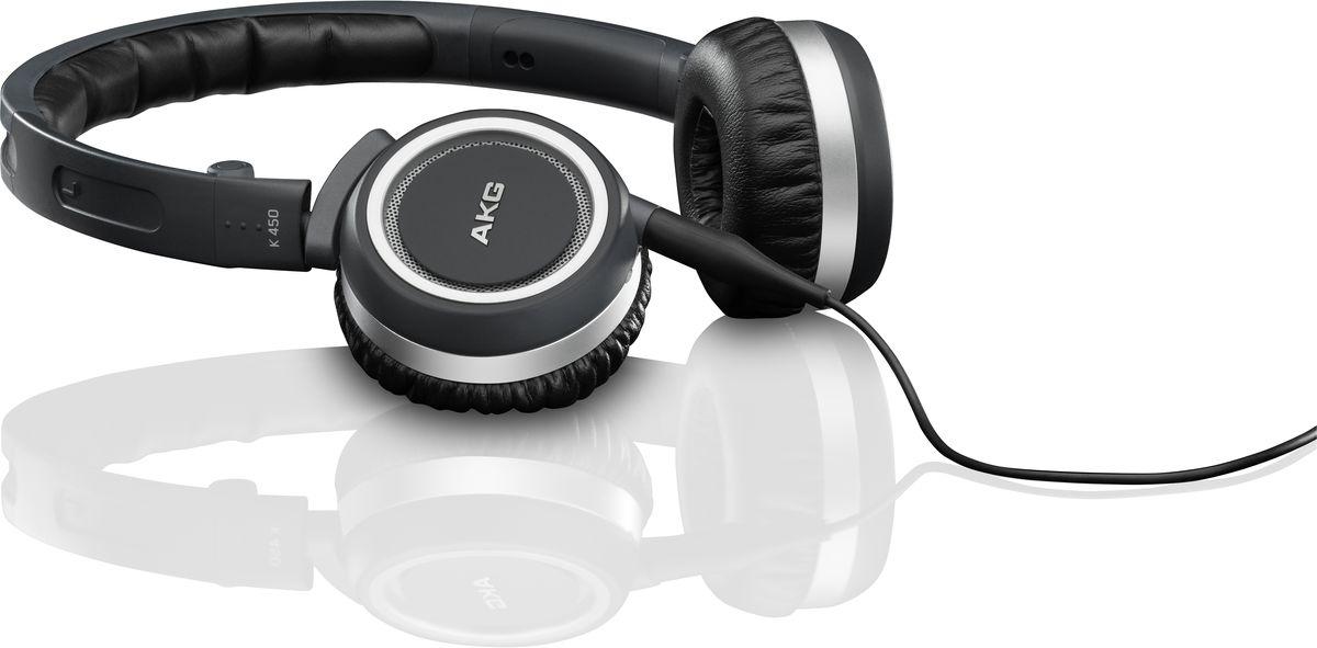AKG K450, Navy наушникиK450BLUНаушники AKG K 450 удобно сидят на голове и так же удобно складываются и помещаются в небольшой чехол для переноски и хранения. Использование гарнитуры Bluetooth позволит Вам не только прослушивать любимую музыку, воспроизводимую на любом сотовом телефоне, имеющем функцию Bluetooth, но также совершать звонки в сколь угодно шумном месте. Отсоединяемый кабель обеспечивает подключение практически к любому устройству, простоту хранения и замены. Трехосевой механизм складывания гарантирует максимальную компактность при хранении и транспортировке.