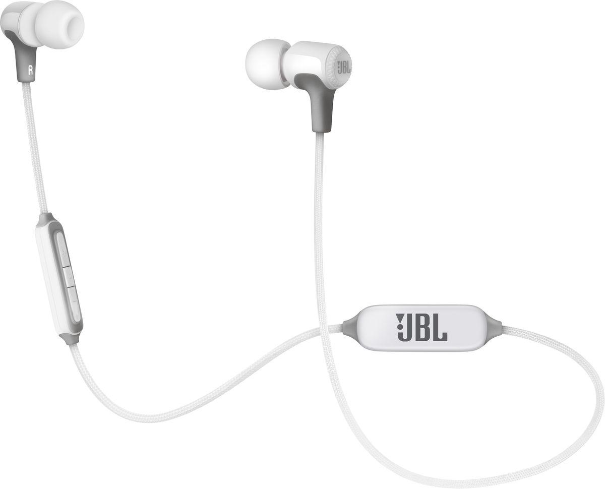 JBL E25BT, White беспроводные наушникиJBLE25BTWHT