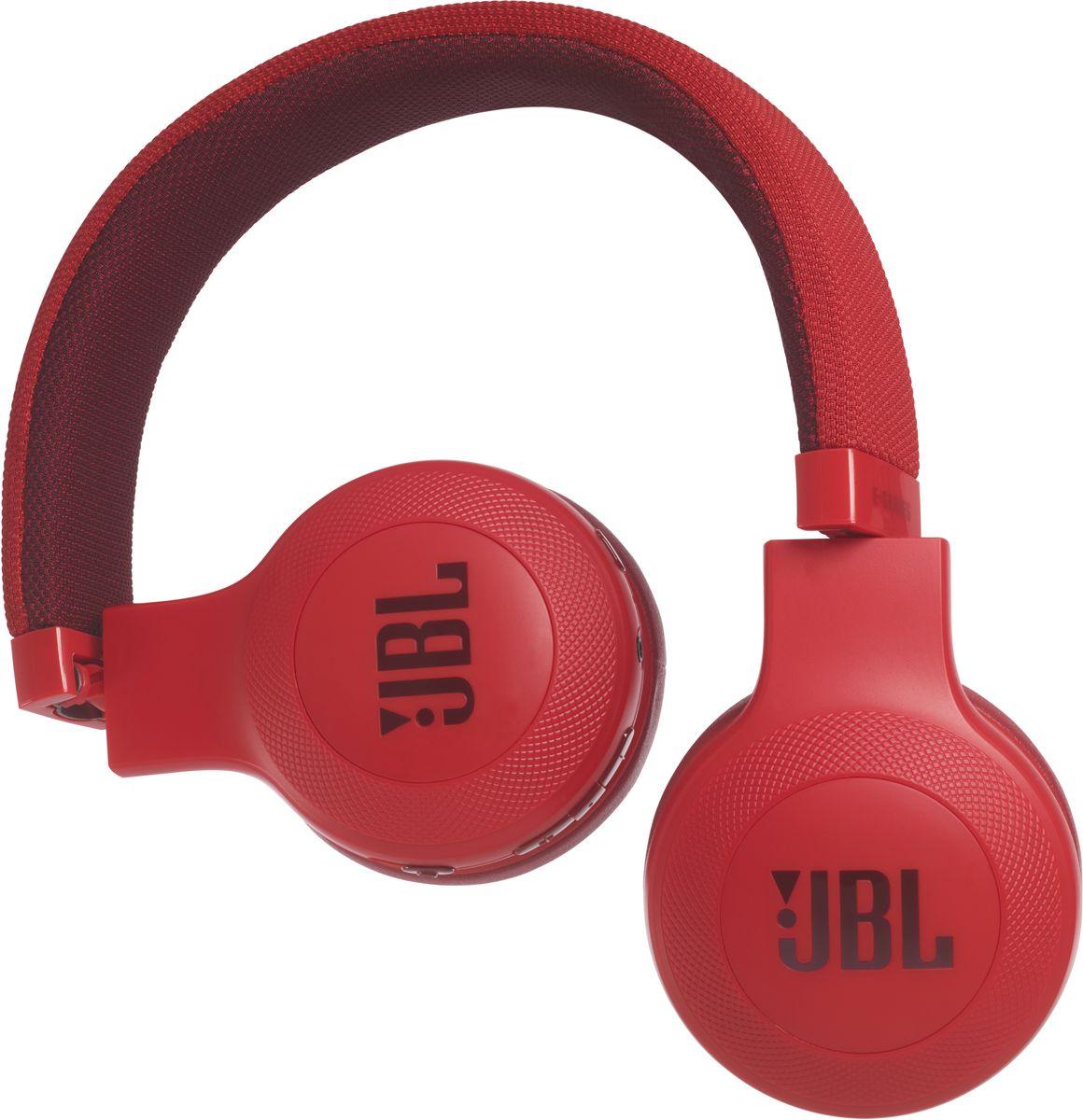 JBL E45BT, Red беспроводные наушникиJBLE45BTRED