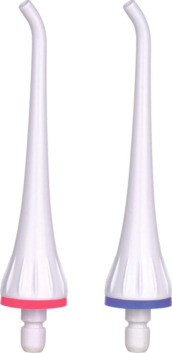 B.Well Насадки для ирригатора WI-911 Ортодонтические NZ911-2 (пакет)NZ911-2 (пакет)Идеально подходит для очистки зубных протезов, коронок и брекет систем Очищает брекеты в три раза эффективней, чем зубная нить Тщательно очищает замки и дуги Рекомендуется заменять каждые 3 месяца