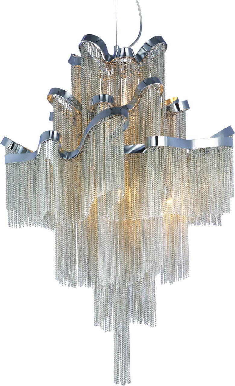 Люстра каскадная подвесная Favourite Multivello, 8 х E14, 40W. 1156-8P1156-8P