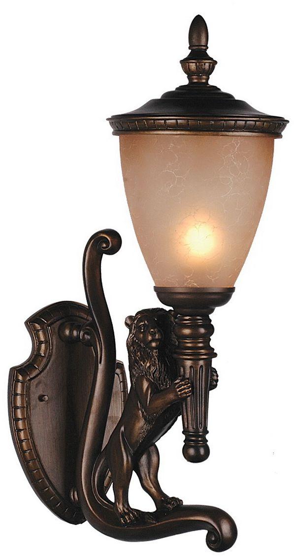 Cветильник уличный настенный Favourite Guards, 1 х E27, 60W. 1337-1W1337-1W