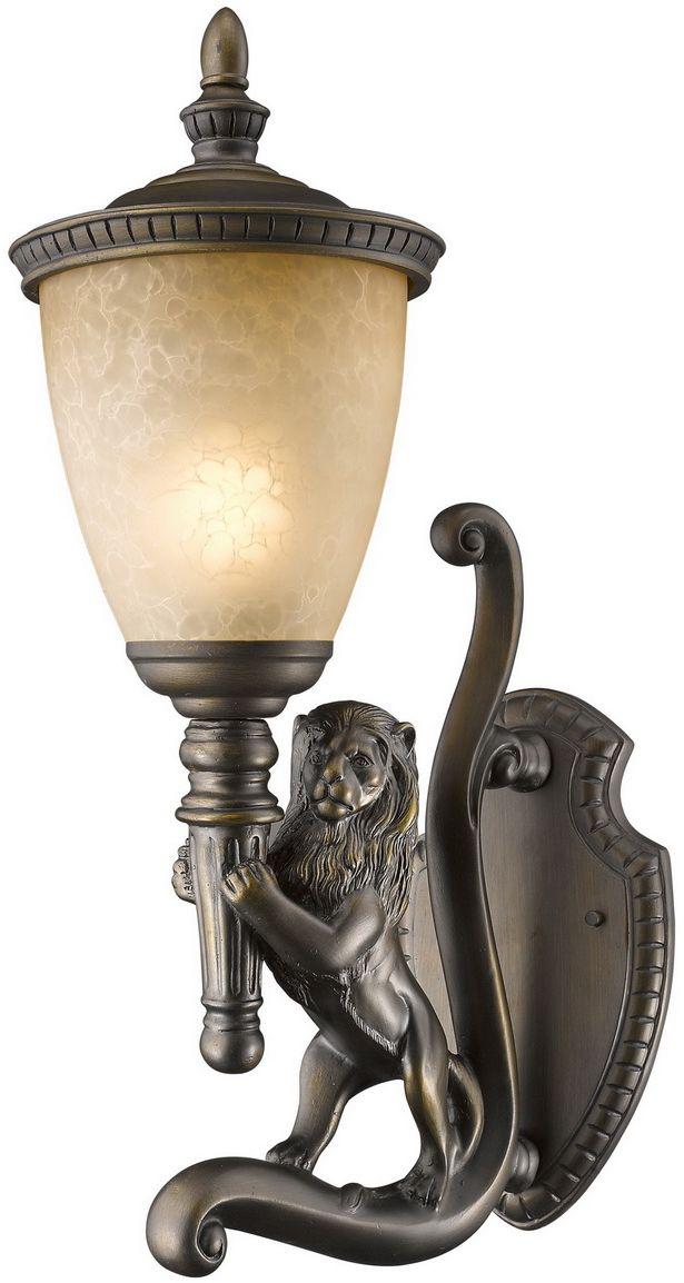 Cветильник уличный настенный Favourite Guards, 1 х E27, 60W. 1337-1WL1337-1WL