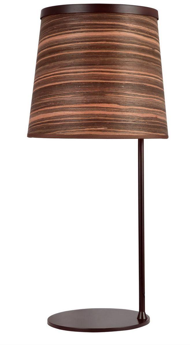 Лампа настольная Favourite Zebrano, 1 х E27, 25. 1356-1T1356-1T