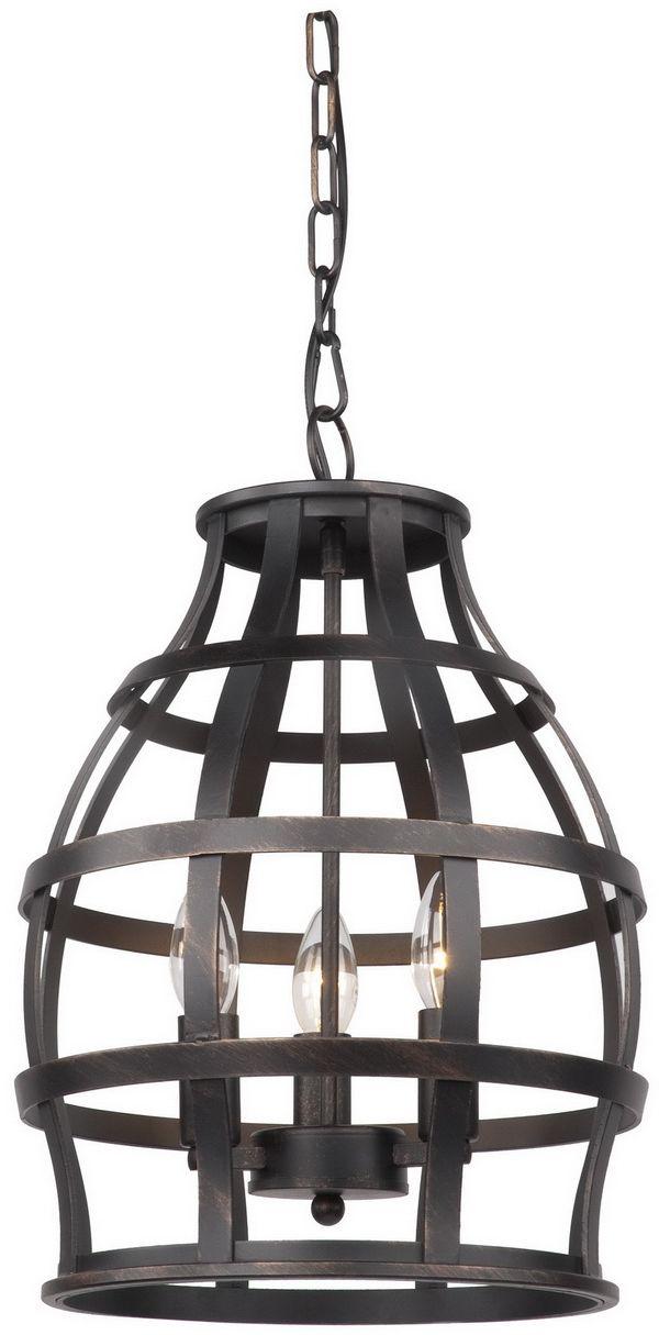 Светильник подвесной Favourite Gitter, 3 х E14, 40. 1504-3P1504-3P