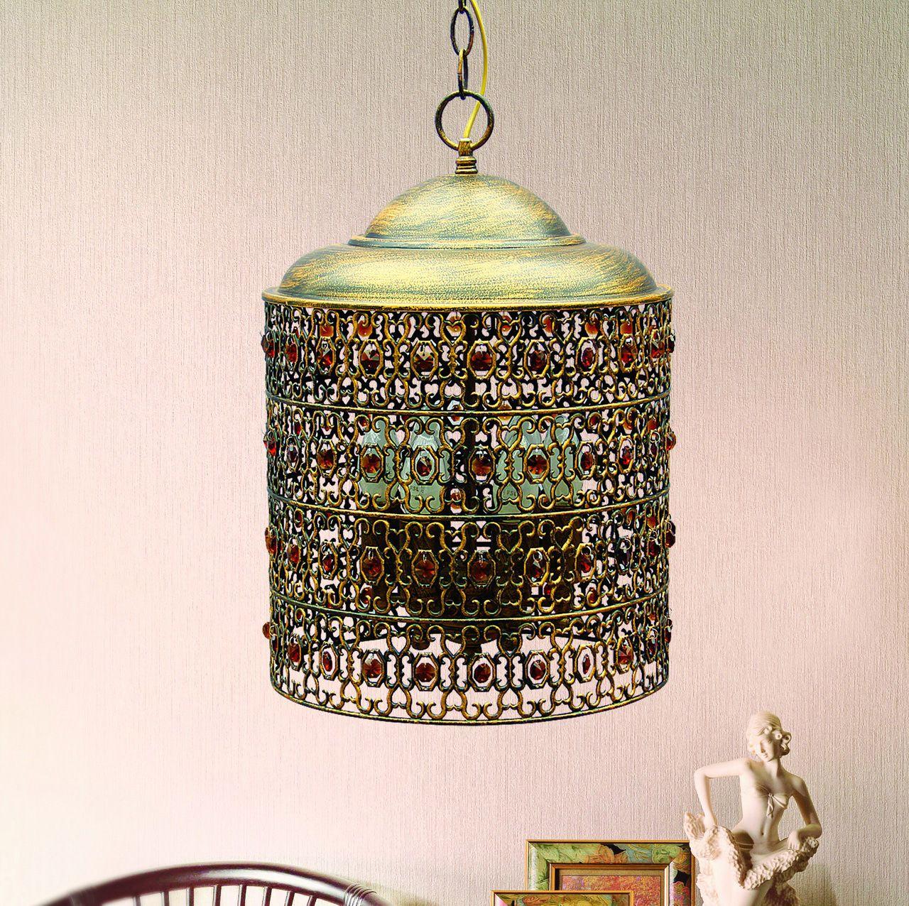 Светильник подвесной Favourite Marocco, 6 х E14, 40. 2312-6P2312-6P