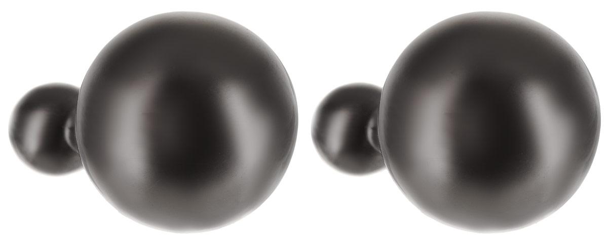 Серьги Art-Silver, цвет: черный. 29481-405Пуссеты (гвоздики)Стильные серьги Art-Silver выполнены из бижутерного сплава. Серьги выполнены с замками-гвоздиками. Такие серьги будут ярким дополнением вашего образа.