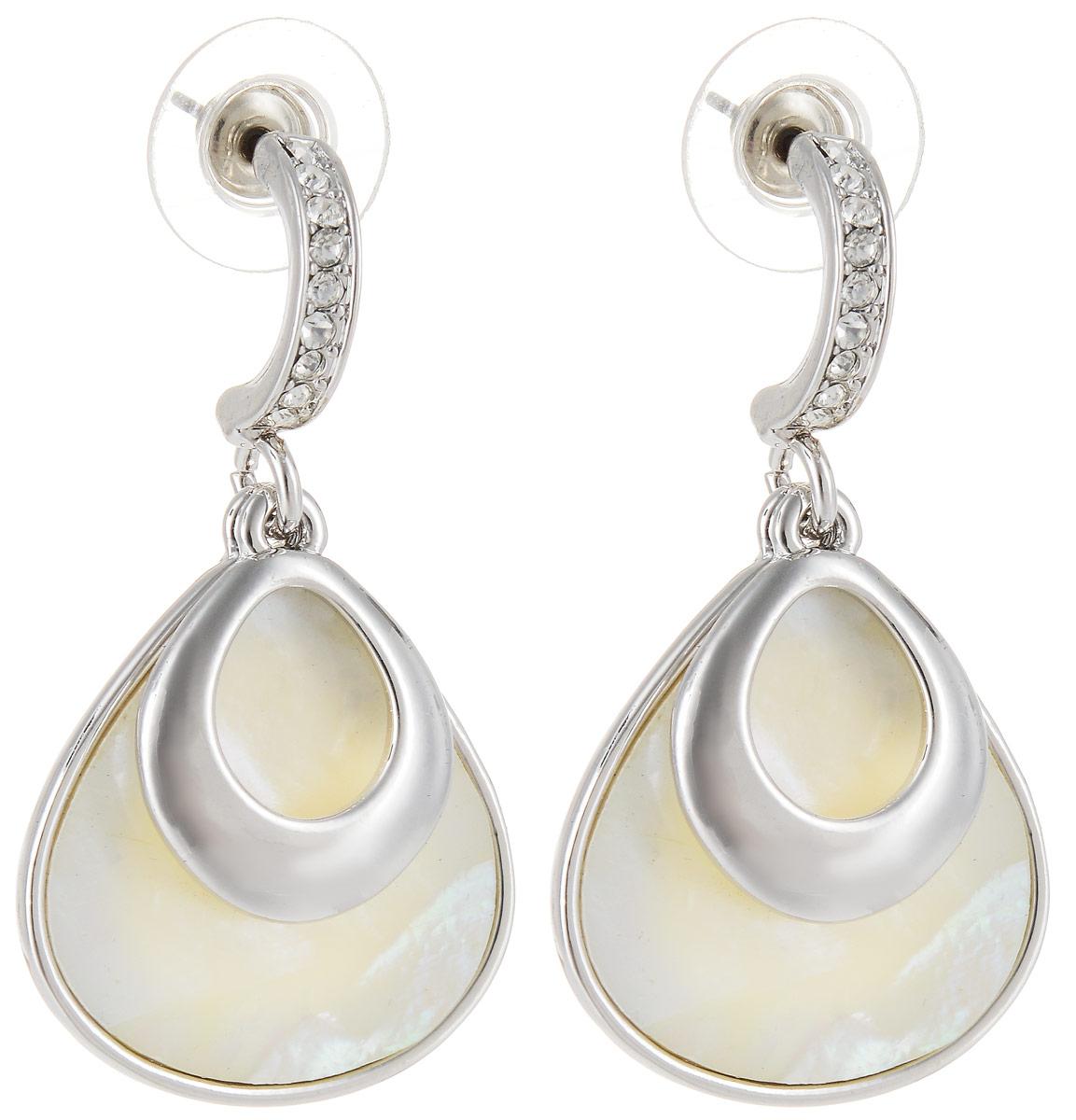Серьги Art-Silver, цвет: серебряный. 058591-550058591-550Стильные серьги Art-Silver выполнены из бижутерного сплава. Серьги оформлены оригинальными декоративными вставками. Серьги выполнены с замками-гвоздиками. Такие серьги будут ярким дополнением вашего образа.