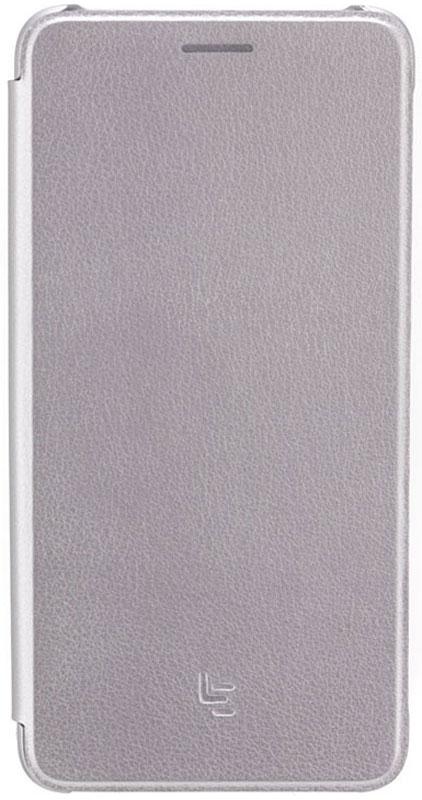 LeEco Clamshell чехол для Le Max 2, Grey400100000102Элегантный стильный чехол LeEco Clamshell для Le Max 2 сделан из высококачественного полиуретана под кожу и поддерживает интеллектуальное включение. Корпус выполнен из экологически чистого полиуретана под кожу премиум-класса, чтобы обеспечить превосходную защиту и функциональность по сравнению с обычными пластмассовыми изделиями. На внутренней стороне интегрированная мягкая подкладка, которая защищает экран. Корпус чехла позволяет легко держать телефон и отвечать на звонки.