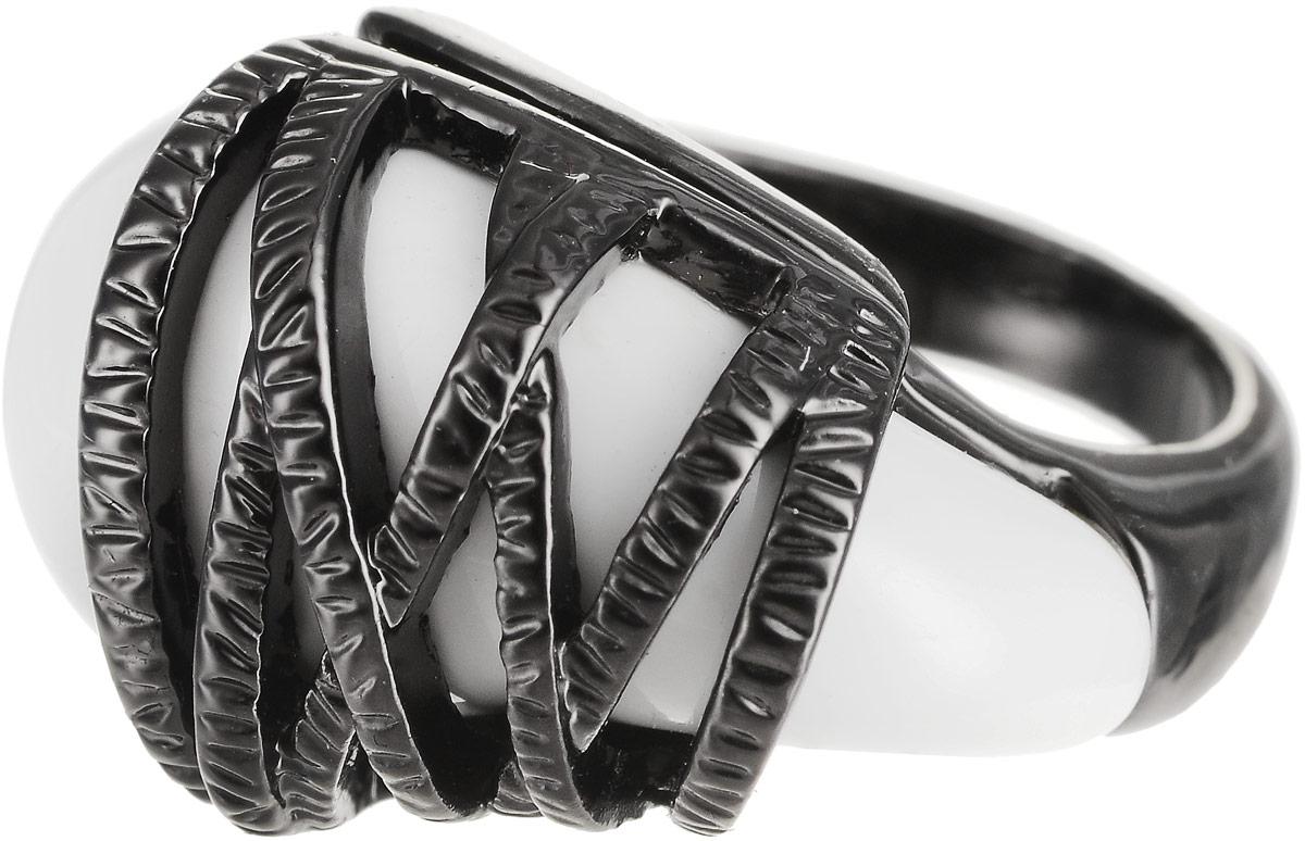 Кольцо Art-Silver, цвет: черный. 272-648. Размер 17272-648Оригинальное кольцо Art-Silver выполнено из бижутерного сплава с гальваническим покрытием. Кольцо украшено декоративными вставками. Элегантное кольцо Art-Silver превосходно дополнит ваш образ и подчеркнет отменное чувство стиля своей обладательницы.