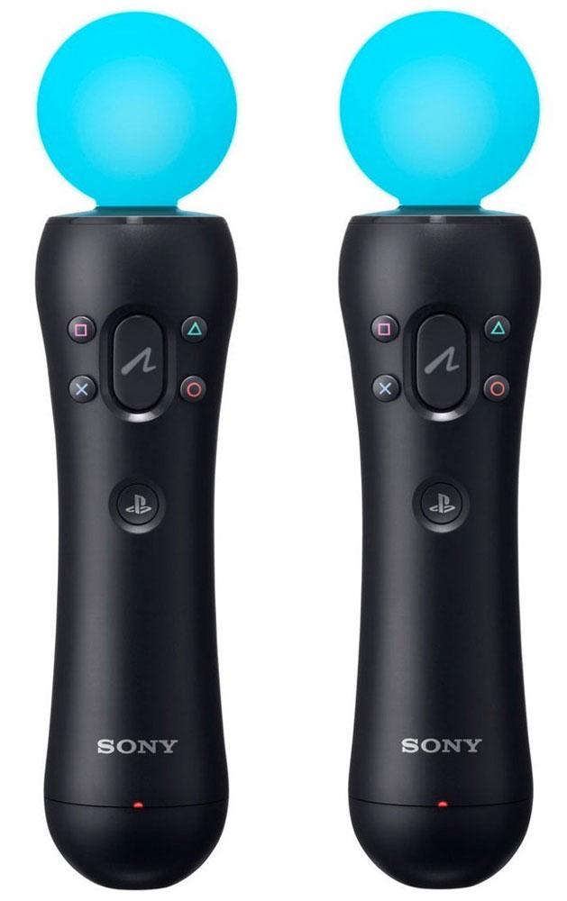 Sony контроллер движений PS Move (CECH-ZCM1E)1CSC20002521Наслаждайтесь PlayStation VR благодаря двум контроллерам движений PlayStation Move в совместимых играх. Благодаря легкому дизайну, улучшенным датчикам движения и светящемуся шарику контроллер движений PlayStation Move позволяет вам легко и точно взаимодействовать с виртуальными мирами. Почувствуйте связь с виртуальными мирами благодаря удобному дизайну и функции вибрации. Наслаждайтесь эффектом погружения с помощью встроенных датчиков движения и меняющего цвет шарика, положение которого отслеживает PlayStation Camera. Почувствуйте полный контроль над своими действиями в виртуальной реальности благодаря удобному расположению кнопок, включая специальную большую спусковую кнопку и знакомые вам по беспроводному контроллеру Dualshock 4 кнопки PS и действий.
