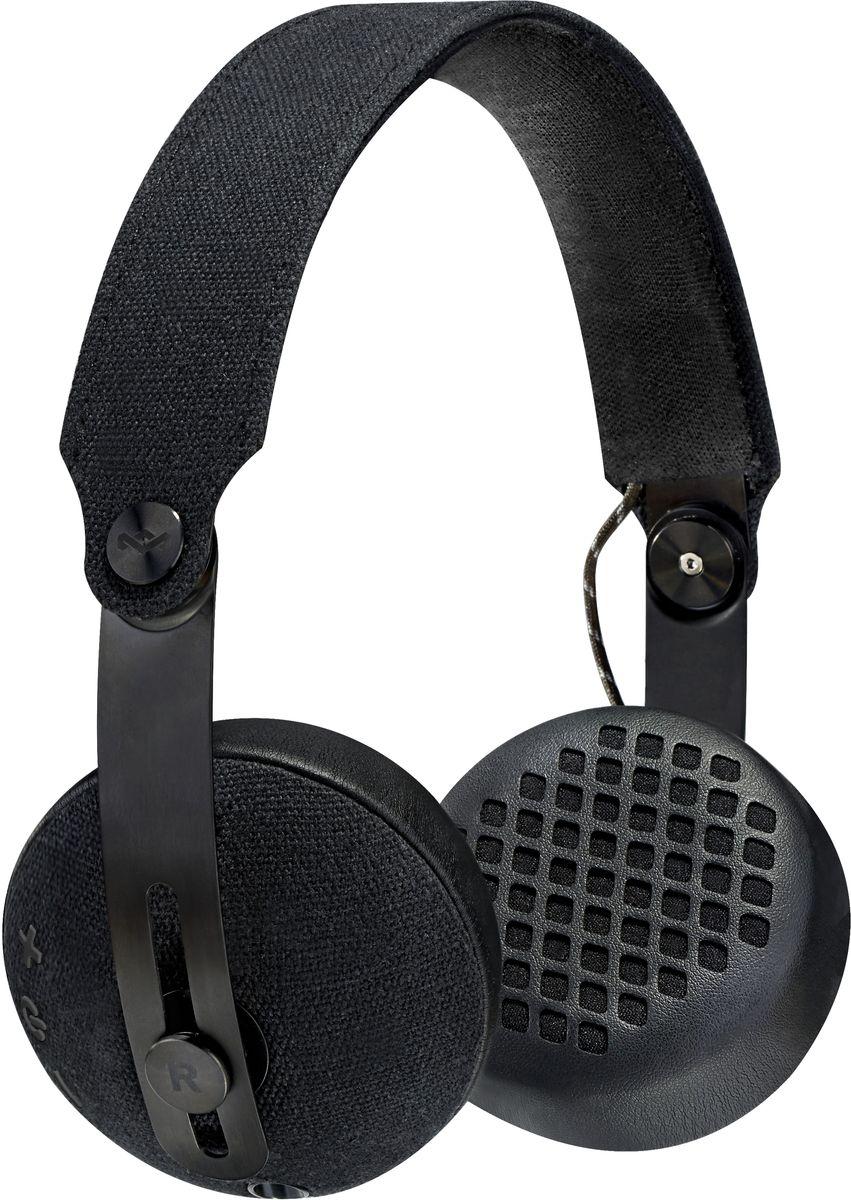 House of Marley Rise BT, Black беспроводные наушникиJH111-BKНаушники выполнены в культовом стиле, отдавая дань уважения истокам бренда, но в современном дизайне. Несколько цветовых решений, исключительное удобство, высокое качество звука и уникальный дизайн позволяют самовыражаться и наслаждаться музыкой. Сверхмягкие кожанные амбюшуры и тканевое оголовье обеспечивают максимальный комфорт. Наушники имеют складную конструкцию легко помещаются в стильный чехол. Время работы этих беспроводных наушников без подзарядки 12 ч.