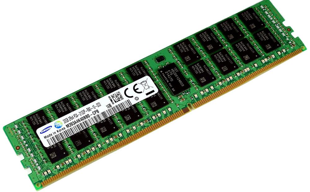 Samsung ECC Reg DDR4 32GB 2133МГц модуль оперативной памятиM393A4K40BB0-CPBМодуль оперативной памяти Samsung M393A4K40BB0-CPB предоставляет качество работы, надежность и производительность, требуемую для современных компьютеров сегодня. Обеспечивает увеличенную рабочую частоту при сниженном тепловыделении и экономном энергопотреблении. Напряжение питания при работе составляет 1,2 В. Этот модуль, емкостью 32 ГБ, спроектирован для работы на частоте 2133 МГц PC4-17000 при таймингах CAS 15. Отличные характеристики, которые смогут удовлетворить потребности большинства пользователей.