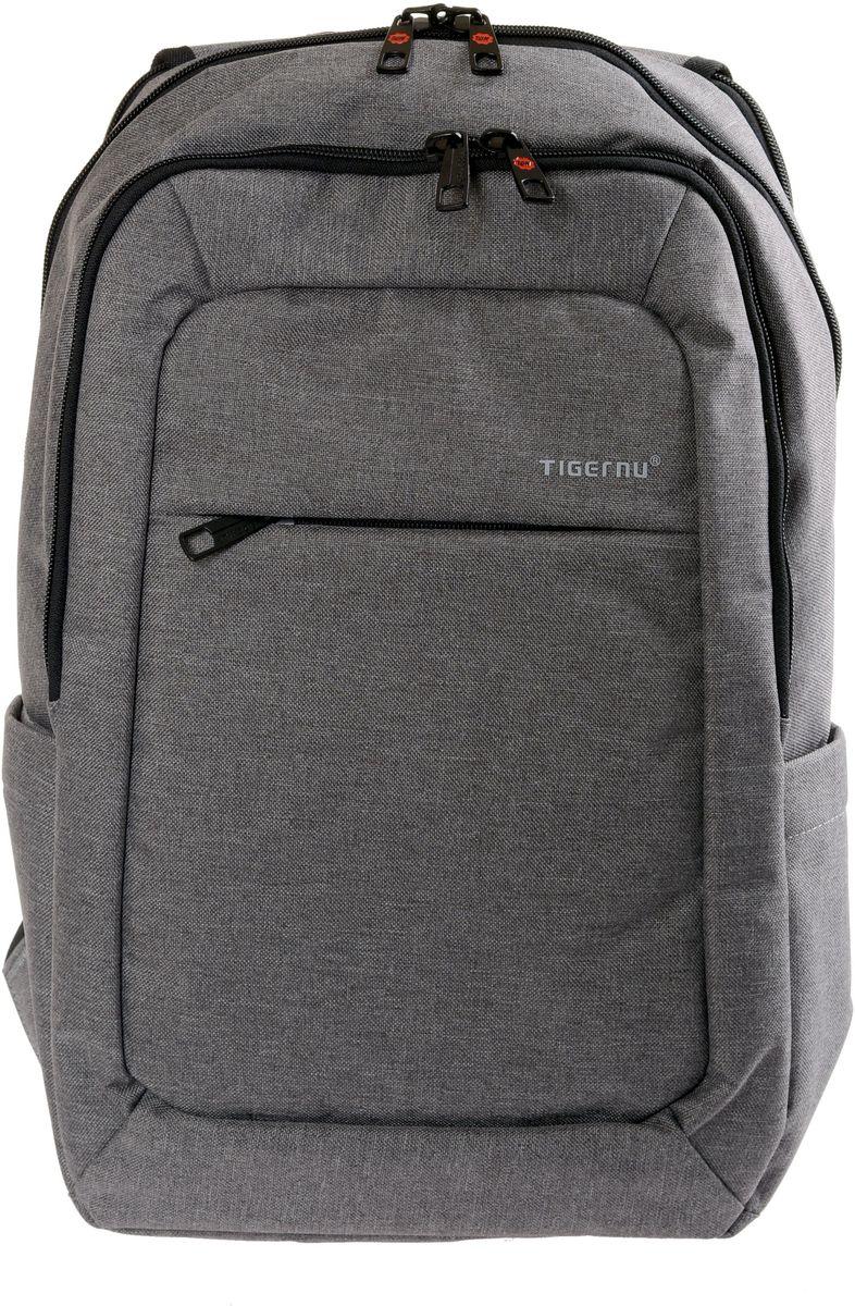 Tigernu T-B3090A, Light Grey рюкзак для ноутбука 15T-B3090AРюкзак Tigernu T-B3092А отлично подойдет для работы, учебы или путешевствий. Сделан из высокопрочного,водоотталкивающего материала. Довольно легкий. На задней части вашего рюкзака находится скрытый карман, где вы можете хранить свои документы и ценные вещи. Отделение для ноутбука и планшета со вставкой из защитной пены, которое защитит ваши устройства от царапин и других повреждений. S-образная конструкция спинки с воздухопроницаемой губкой обеспечивает идеальную мягкую посадку. Основное отделение с двойной молнией (защита от кражи). Задний ремешок H-дизайна для ручки и спинки.
