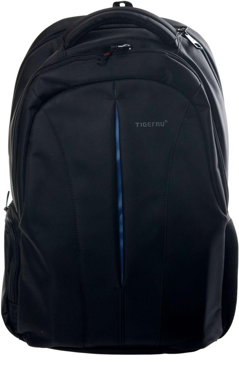 Tigernu T-B3105, Black рюкзак для ноутбука 15T-B3105Рюкзак Tigernu T-B3105 отлично подойдет для работы, учебы или путешевствий. Сделан из высокопрочного,водоотталкивающего материала. Довольно легкий. Отделение для ноутбука и планшета со вставкой из защитной пены, которое защитит ваши устройства от царапин и других повреждений. S-образная конструкция спинки с воздухопроницаемой губкой обеспечивает идеальную мягкую посадку. Основное отделение с двойной молнией (защита от кражи). Передняя стягивающая застежка.