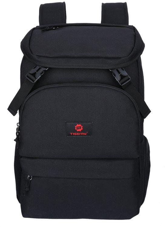 Tigernu T-B3210, Black рюкзак для ноутбука 14T-B3210Рюкзак Tigernu T-B3210 отлично подойдет для работы, учебы или путешевствий. Сделан из высокопрочного,водоотталкивающего материала. Довольно легкий. Отделение для ноутбука и планшета со вставкой из защитной пены, которое защитит ваши устройства от царапин и других повреждений. Основное отделение с двойной молнией (защита от кражи). Передняя стягивающая застежка.