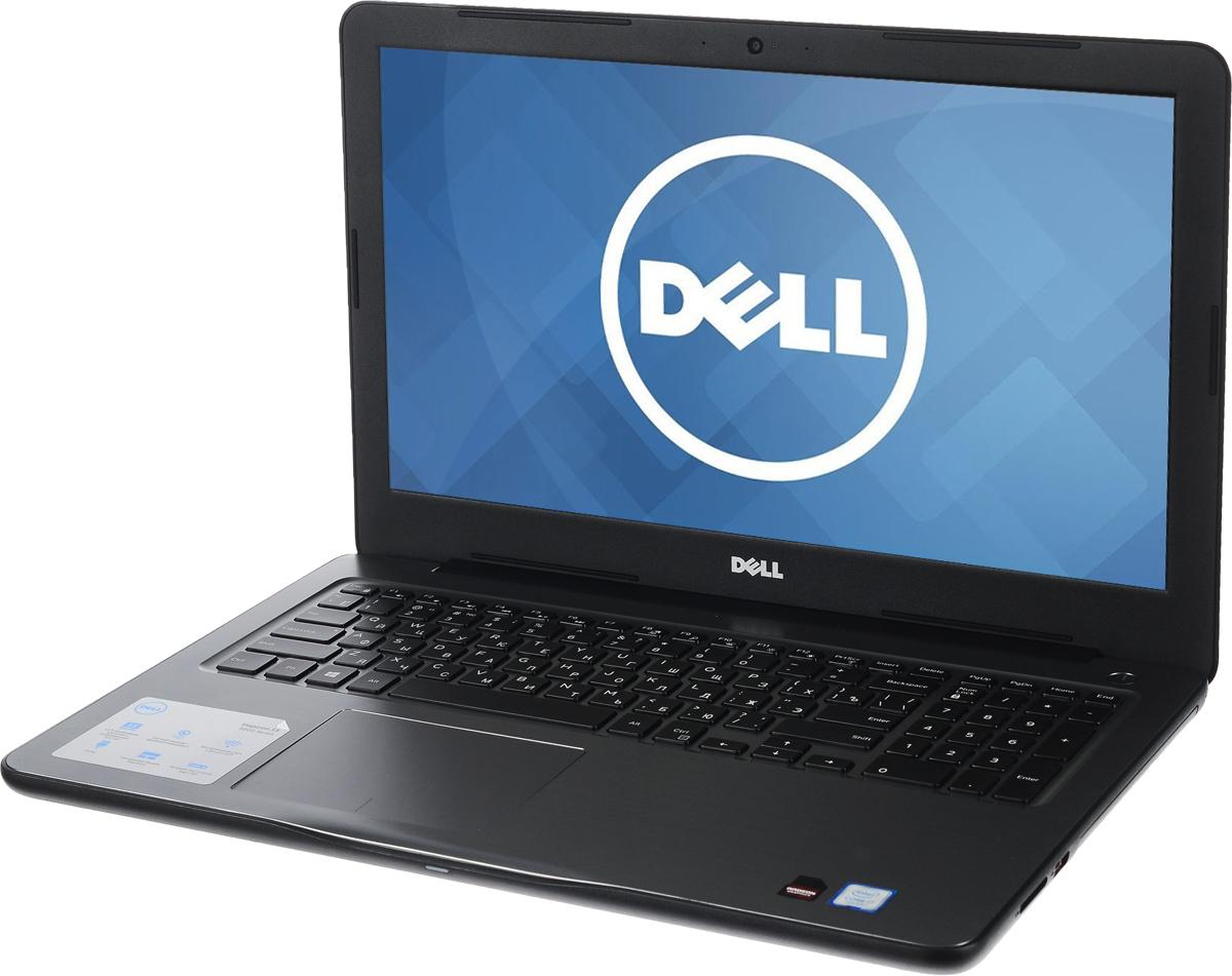 Dell Inspiron 5567 (7928), Black5567-7928Производительные процессоры Intel Core i3, стильный дизайн и цвета на любой вкус - ноутбук Dell Inspiron 5567 - это идеальный мобильный помощник в любом месте и в любое время. Безупречное сочетание современных технологий и неповторимого стиля подарит новые яркие впечатления.Сделайте Dell Inspiron 5567 своим узлом связи. Поддерживать связь с друзьями и родственниками никогда не было так просто благодаря надежному WiFi-соединению и Bluetooth, встроенной HD веб-камере высокой четкости, ПО Skype и 15,6-дюймовому экрану, позволяющему почувствовать себя лицом к лицу с близкими.15,6-дюймовый экран с разрешением HD ноутбука Dell Inspiron оживляет происходящее на экране, где бы вы ни были. Вы можете еще более усилить впечатление, подключив телевизор или монитор с поддержкой HDMI через соответствующий порт. Возможно, вам больше не захочется покупать билеты в кино.Выделенный графический адаптер AMD RadeonR7 M440 позволяет выполнять ресурсоемкие процедуры редактирования фотографий и видеороликов без снижения производительности.Смотрите фильмы с DVD-дисков, записывайте компакт-диски или быстро загружайте системное программное обеспечение и приложения на свой компьютер с помощью внутреннего дисковода оптических дисков.Точные характеристики зависят от модели.Ноутбук сертифицирован EAC и имеет русифицированную клавиатуру и Руководство пользователя.