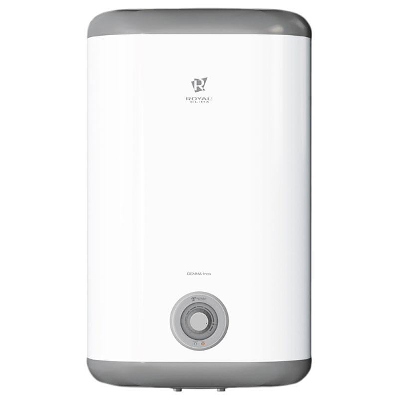 Royal Clima RWH-GI50-FS водонагреватель накопительныйRWH-GI50-FSНакопительный водонагреватель Royal Clima RWH-GI50-FS имеет внутреннее покрытие из нержавеющей стали Goliath 1.2. Высококачественный медный нагревательный элемент повышенного срока службы обеспечивает высокую скоростью нагрева воды. Заботливый режим iLike предназначен для установки наиболее комфортной температуры нагрева воды (55 градусов) с соблюдением оптимальных параметров по энергопотреблению. Эмалевое покрытие бака устойчиво к царапинам и ржавчине. Компактность прибора обеспечивает его легкую установку в любом помещении.