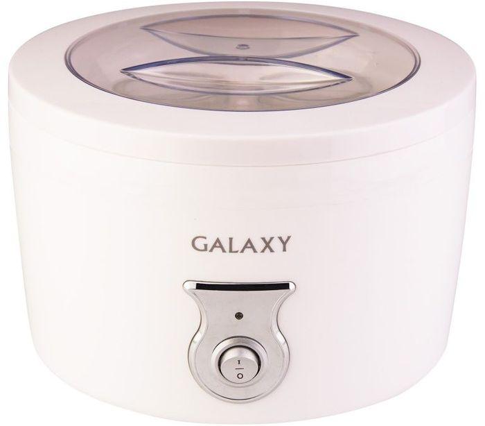Galaxy GL 2695, White йогуртница4650067302607Мощность, Вт: 20 Объем на 0,4 л. продукта Низкое потребление электроэнергии 4 стеклянные емкости с крышками Напряжение сети, В: 220-240 Частота, Гц: 50 Йогуртница приговит для Вас полезное лакомство, содержащее живую йогуртовую культуру без консервантов,ароматизаторов и красителей. Приготовление домашнего йогурта позволяет дать волю фантазии в выборе наполнителей и получить натуральный и полезный продукт для Вашей семьи!