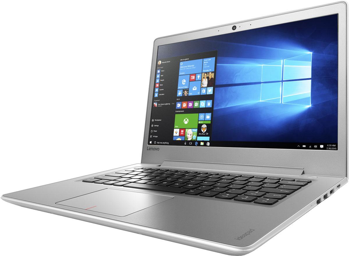 Lenovo IdeaPad 510S-14ISK, White (80TK0068RK)80TK0068RKТонкий и легкий 14-дюймовый ноутбук Lenovo IdeaPad 510S позволяет тебе эффективно работать и развлекаться, где бы ты ни находился. Ультрамобильный мощный ноутбук Lenovo IdeaPad 510S отлично подойдет для работы, развлечений и игр в поездках. IdeaPad 510S на 20 процентов тоньше и на 30 процентов легче большинства ноутбуков в своем классе. Высокопроизводительный, многофункциональный процессор Intel Core i5-6200U со встроенными функциями обеспечения безопасности открывает качественно новые возможности для работы, творчества и развлечений. Разбуди свою фантазию и раздвинь границы возможного при помощи ОС Windows 10, дополненной процессором Intel Core шестого поколения и дискретной видеокартой AMD Radeon R7 M460. Два стереофонических динамика Harman Audio обеспечивают отличный звук при просмотре фильмов и прослушивании музыки. Если нужно расслабиться — просто включи и наслаждайся звуком. До трех раз более высокая (по сравнению с...