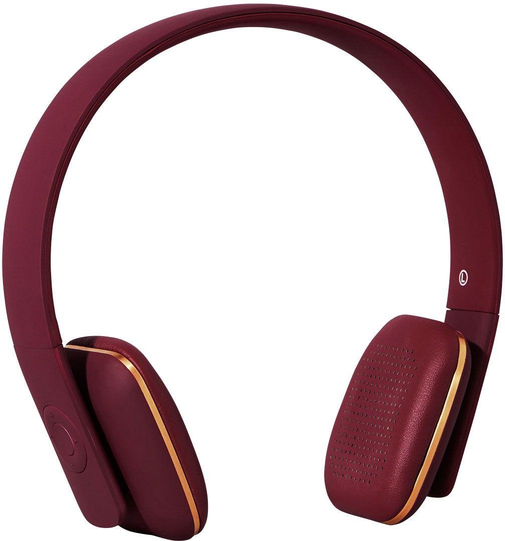 Kreafunk aHEAD, Plum наушникиKfss07aHEAD – беспроводные наушники, созданные для настоящих меломанов и модников. Это не только полезный гаджет, но и стильный аксессуар, который дополнит имидж и подчеркнет индивидуальность. Наушники оснащены Bluetooth-гарнитурой и совместимы с любым смартфоном. Панель управления находится на одном из наушников, что позволяет легко регулировать музыку, уровень громкости или даже принимать телефонные звонки. Подушки наушников выполнены из мягкой эко-кожи, а настраиваемый ободок имеет приятное покрытие soft touch. Великолепное качество звука, простота эксплуатации и лаконичный дизайн – этим гаджетом захочется пользоваться изо дня в день. В комплекте фирменный мешочек из PU кожи. Поставляются в стильной деревянной упаковке, поэтому могут стать отличным подарком меломанам и всем поклонникам скандинавского дизайна. Также коробку украшают слова Фридриха Ницше: «Без музыки жизнь была бы ошибкой». Технические характеристики: Аккумулятор (Li-ion) 195 мАч До 14 часов беспрерывной...