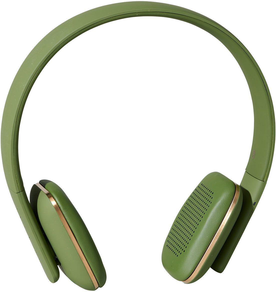 Kreafunk aHEAD, Army наушникиKfss08aHEAD – беспроводные наушники, созданные для настоящих меломанов и модников. Это не только полезный гаджет, но и стильный аксессуар, который дополнит имидж и подчеркнет индивидуальность. Наушники оснащены Bluetooth-гарнитурой и совместимы с любым смартфоном. Панель управления находится на одном из наушников, что позволяет легко регулировать музыку, уровень громкости или даже принимать телефонные звонки. Подушки наушников выполнены из мягкой эко-кожи, а настраиваемый ободок имеет приятное покрытие soft touch. Великолепное качество звука, простота эксплуатации и лаконичный дизайн – этим гаджетом захочется пользоваться изо дня в день. В комплекте фирменный мешочек из PU кожи. Поставляются в стильной деревянной упаковке, поэтому могут стать отличным подарком меломанам и всем поклонникам скандинавского дизайна. Также коробку украшают слова Фридриха Ницше: «Без музыки жизнь была бы ошибкой». Технические характеристики: Аккумулятор (Li-ion) 195 мАч До 14 часов беспрерывной...