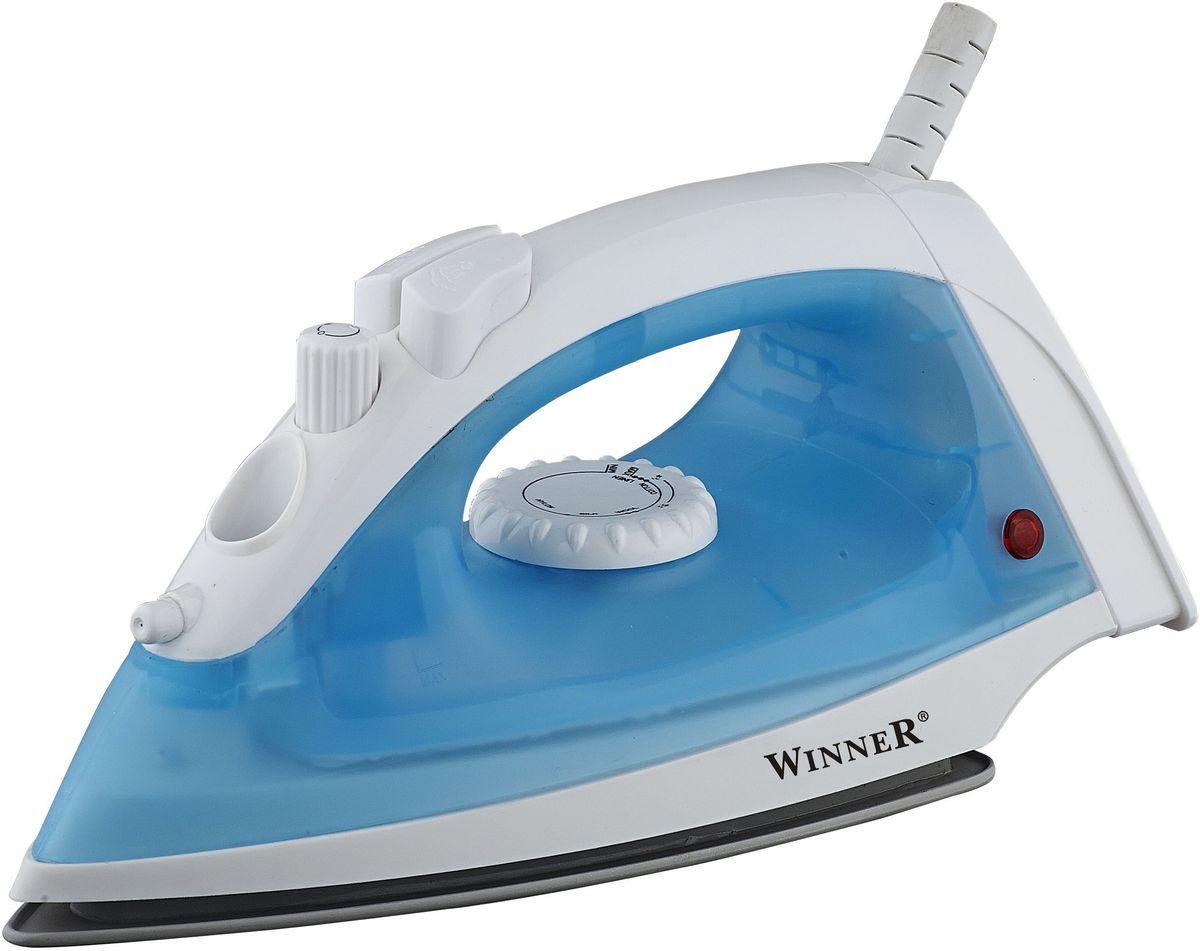 Winner Electronics WR-472 утюгWR-472Сухое глажение, отпаривание, регулирование подачи пара, функция подачи воды, паровой удар, вертикальное отпаривание. Резервуар для воды: 110мл. Световой индикатор. Керамическое покрытие подошвы. Размеры подошвы 10,5*19,5см. 220-240V, 50/60Hz, 1600W