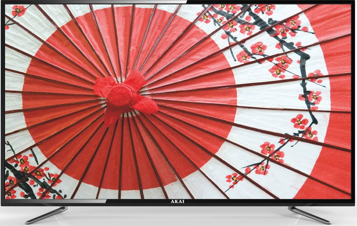 Akai LEA-55B57P телевизорLEA-55B57PAkai LEA-55B57P - ЖК-телевизор со светодиодной подсветкой, разрешением, обеспечивающий хорошую яркость изображения и в то же время экономно расходующий электроэнергию. Телевизор оснащён аналоговым и цифровым ТВ-тюнером. Благодаря этому владелец может принимать программы цифрового ТВ в высоком качестве без дополнительного оборудования. Аудиосистема состоит из двух динамиков мощностью по 10 Вт каждый. Они обеспечивают громкий, насыщенный, реалистичный звук, благодаря которому смотреть фильмы и телепередачи будет особенно приятно. Встроенные разъёмы USB и HDMI можно использовать для подключения различных внешних устройств и носителей информации. С их помощью владелец может выводить на большой экран видеофайлы и изображения с DVD- проигрывателей, ноутбуков, цифровых камер, флешек и так далее.