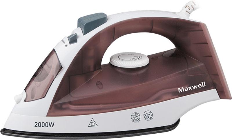 Maxwell MW-3049(ВN) утюгMW-3049(ВN)В утюге Maxwell MW-3049(ВN) все предусмотрено для легкого, быстрого и эффективного глажения. Данная модель оснащена подошвой с антипригарным покрытием, что обеспечит легкое скольжение по тканям любой фактуры. Данная модель позволяет воспользоваться как сухим глажением, так и паровым. Благодаря наличию сильного парового удара вы можете использовать вертикальное отпаривание для глажения вещей, не снимая с вешалки. Различные температурные режимы позволят подобрать нужную температуру для определенного вида ткани из шерсти, шелка, хлопка или синтетики. Функция разбрызгивания поможет еще эффективнее прогладить вещи, а вращающийся шнур обеспечит удобство работы.