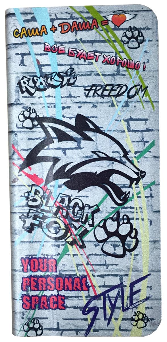 Black Fox BMP040F внешний аккумулятор (4000 мАч)4627102590978Внешний аккумулятор Black Fox BMP 040 F (Цвет-граффити), Li-Pol, емкость 4000 мАч