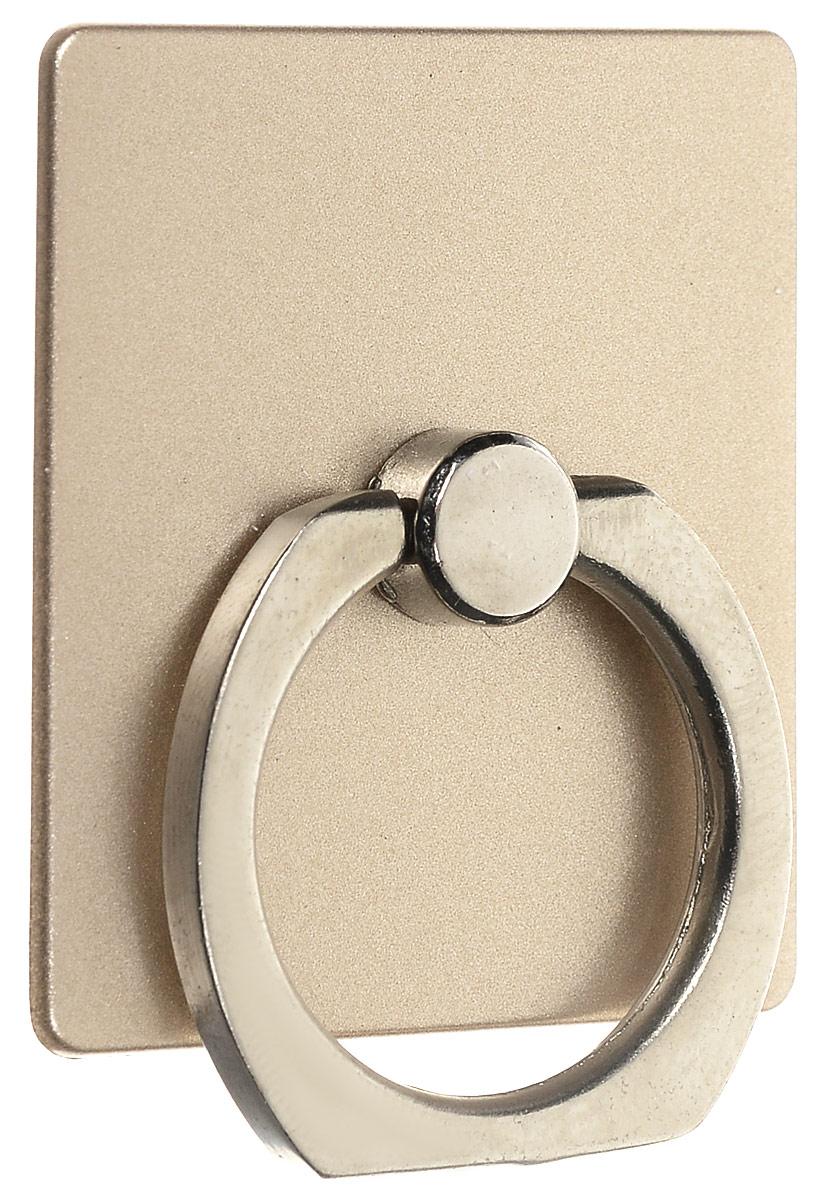 Bradex SU 0058, Gold кольцо-держатель для телефона и планшетаSU 0058Кольцо-держатель и подставка Bradex SU 0058 позволяют удобно закрепить смартфон или планшет в руке, на стене, на столе или в автомобиле. Кольцо быстро крепится, легко снимается, не оставляет следов на корпусе, вращается на 360°. Если вес гаджета превышает 150 грамм, необходимо пользоваться кольцом и подставкой с осторожностью.Материал: поликарбонат, цинковый сплав, клейкая поверхность.