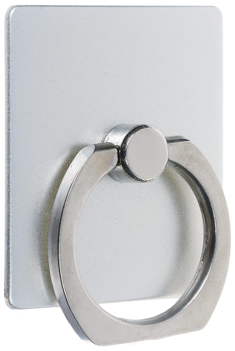 Bradex SU 0057, Silver кольцо-держатель для телефона и планшетаSU 0057Кольцо-держатель и подставка Bradex SU 0057 позволяют удобно закрепить смартфон или планшет в руке, на стене, на столе или в автомобиле. Кольцо быстро крепится, легко снимается, не оставляет следов на корпусе, вращается на 360°. Если вес гаджета превышает 150 грамм, необходимо пользоваться кольцом и подставкой с осторожностью. Материал: поликарбонат, цинковый сплав, клейкая поверхность.