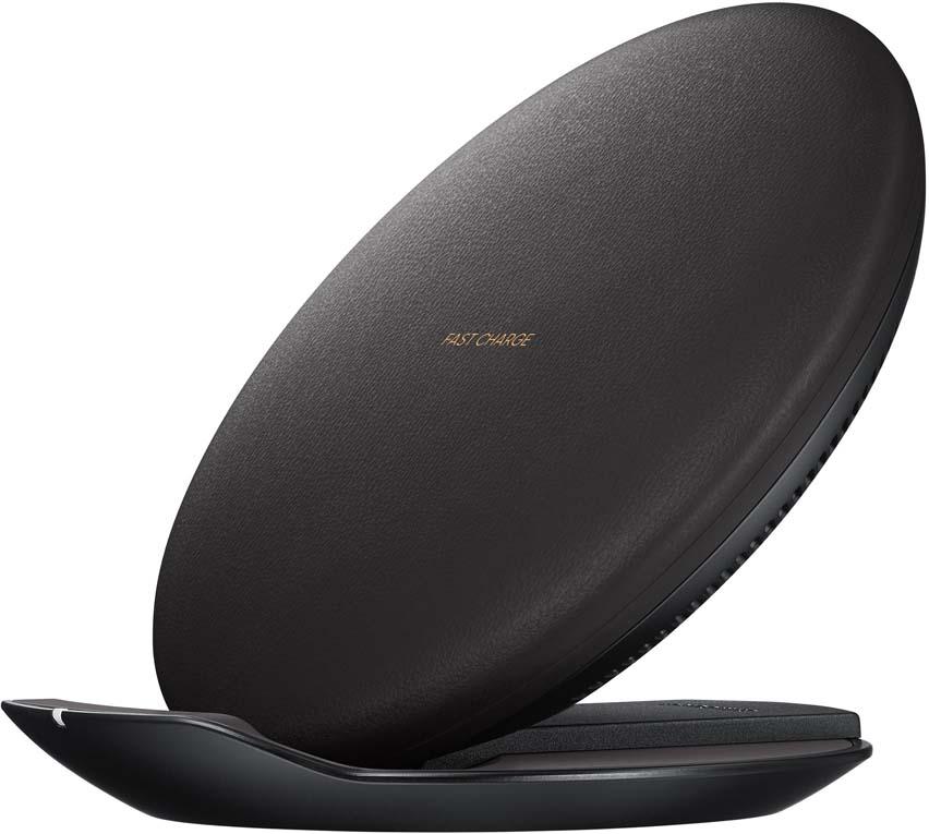 Samsung EP-PG950BBRGRU, Black беспроводное зарядное устройствоEP-PG950BBRGRUБеспроводное зарядное устройство на подставке. Легкое подключение. Встроенный индикатор, определяющий правильное положение заряжаемого устройства