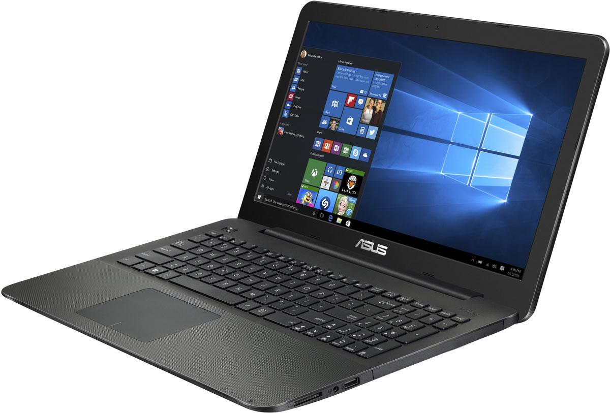 ASUS X555YI (XO180T), BlackX555YI-XO180TASUS X555YI - модель, которая подходит как для домашнего, так и для офисного использования. Благодаря применению разъемов HDMI и VGA он может работать с мониторами высокого разрешения и проекционным оборудованием, что позволяет использовать его для просмотра качественного мультимедиа и для демонстрации различных материалов.Ноутбук оснащен четырехъядерным процессором AMD A8- 7410 с тактовой частотой2,2 ГГц, оперативной памятью 8 Гб DDR3L с пониженным энергопотреблением и большим хранилищем данных 1000 Гб. Хорошим запас оперативной памяти позволит комфортно работать в мультизадачном режиме, солидной емкости хранилища данных хватит, чтобы всегда иметь под рукой всю необходимую информацию, а также любимые фильмы и музыку.Разработанная специалистами ASUS технология Splendid позволяет быстро настраивать параметры дисплея в соответствии с текущими задачами и условиями, чтобы получить максимально качественное изображение. Она предлагает выбрать один из нескольких предустановленных режимов, каждый из которых оптимизирован под определенные приложения (фильмы, работа с текстом и т.д).Большой и удобный 15-и дюймовый широкофоматный дисплей с разрешением HD (1366x768) позволит просматривать фильмы в высоком качестве, а также комфортно работать и общаться с друзьями.В данном ноутбуке реализована разработанная специалистами ASUS технология SonicMaster, представляющая собой комплекс аппаратных и программных средств улучшения качества звука.Порты Wi-Fi и Bluetooth обеспечат выход в сеть и коммуникацию с другими устройствами. Ноутбук сможет стать полноценным рабочим местом там, где необходимо.Точные характеристики зависят от модификации.Ноутбук сертифицирован EAC и имеет русифицированную клавиатуру и Руководство пользователя.