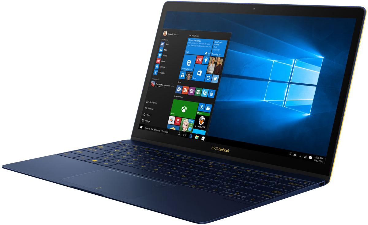 ASUS Zenbook 3 UX390UA, Royal Blue (GS073T)UX390UA-GS073TASUS Zenbook 3 знаменует собой новую эру мобильных вычислений. Каждая его деталь разработана с чистого листа и исполнена с особой точностью и элегантностью с целью сделать ZenBook 3 самым совершенным ZenBook в истории. Он легче, тоньше, прочнее, мощнее - и неописуемо красив. Сверхтонкий корпус толщиной 11,9 мм означал, что придется изобрести самые миниатюрные в мире шарниры для крепления крышки ноутбука - всего 3 миллиметра высотой - чтобы сохранить благородство его очертаний. Чтобы разместить полноразмерную клавиатуру, понадобилось разработать рабочую панель шириной всего 2,1 мм по краям, а мощная аудиосистема, состоящая из четырех громкоговорителей, разработана в партнерстве со специалистами по звуку компании Harman Kardon. ZenBook знаменит своим уникальным внешним видом и моментально узнается по фирменной концентрической шлифовке корпуса в стиле Дзен - отделке, требующей 32 кропотливых стадии в производстве. Но в ZenBook 3 добавлен дополнительный штрих - в...