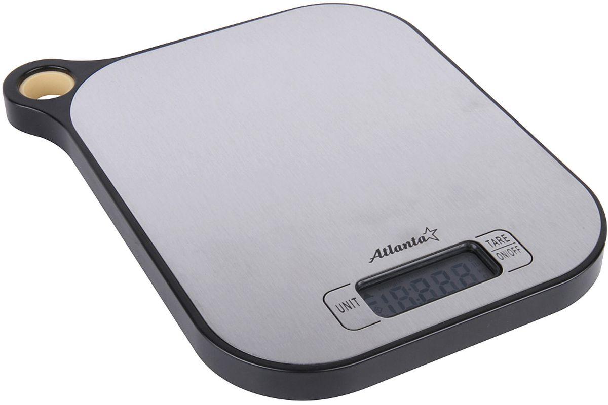 Atlanta ATH-6208, Black весы кухонные