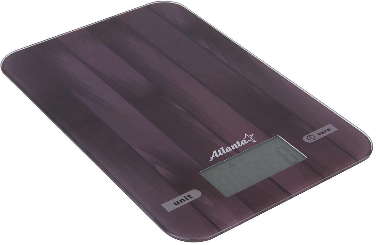 Atlanta ATH-6212, Black весы кухонныеATH-6212 blackЯркий ЖКИ дисплей нового поколения 58,6 x 28 мм Сенсорные кнопки Высокая точность взвешивания 1 г Функция обнуления веса Авто отключение Предел взвешивания 5 кг Переключение режимов: g/lb/oz/kg Индикатор слабых батареек Индикатор перегрузки Работает от 2 х 1,5 В батареек тип ААА