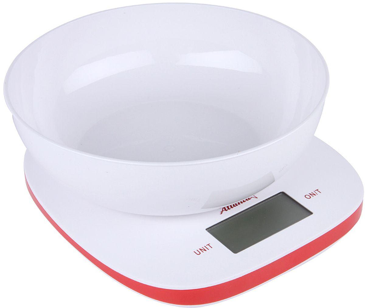 Atlanta ATH-6210, Red весы кухонные