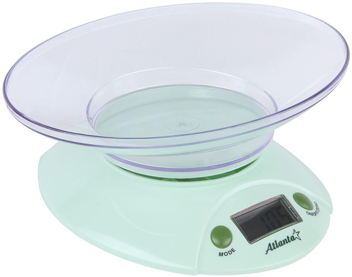 Atlanta ATH-803, Green весы кухонные