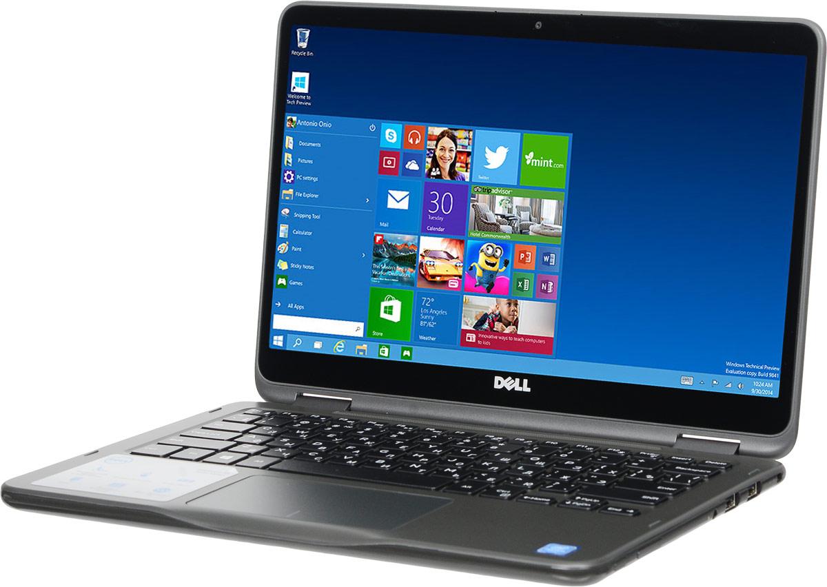 Dell Inspiron 3168, Grey (3168-8766)3168-8766Ноутбук два в одном Dell Inspiron 3168 с диагональю 11,6 дюймов, с которым не придется скучать. Яркий, легкий и невероятно универсальный ноутбук с четырьмя потрясающими режимами работы, который удобно брать в дорогу. Инновационный шарнир, поворачивающийся на 360 градусов, поддерживает четыре режима работы для любых ситуаций в вашей активной жизни. Просматривайте вкладки в социальных сетях в режиме планшета, играйте в режиме консоли, просматривайте потоковые передачи или фильмы в режиме презентации или выполняйте более сложные задачи в режиме ноутбука. Мощность для любых задач. Новейший процессор Intel Pentium N3710 обеспечивает высокую производительность для ежедневных задач. Благодаря компактному размеру, длительному времени работы от аккумулятора и легкому корпусу ноутбук Dell Inspiron 3168 невероятно удобно брать с собой в дорогу. Точные характеристики зависят от модификации. Ноутбук сертифицирован EAC и имеет...