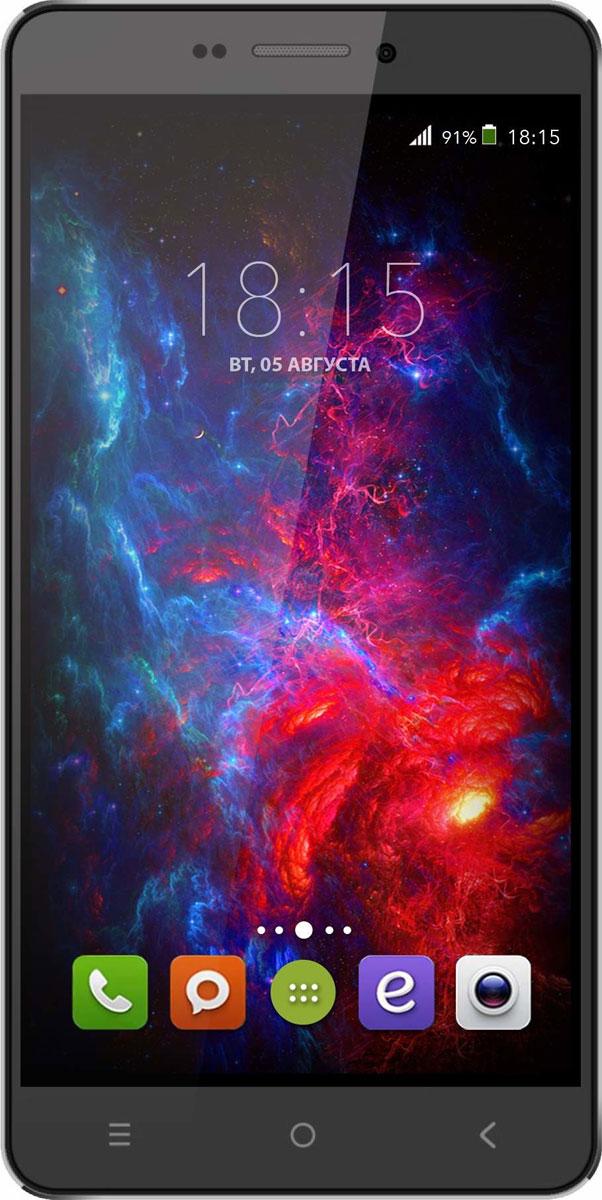 BQ 5515 Wide LTE, Black46610726BQ 5515 Wide LTE с 5,5 HD IPS дисплеем c разрешением 1280 на 720 точек совмещает в себе функции высокопроизводительного смартфона и планшета, поэтому станет незаменимым помощником не только в развлечениях, общении, серфинге, но и в учебе.Данная модель оснащена 4-х ядерным процессором MTK6735 LTE, который обладает широкими возможностями по работе с мультимедийными данными. Процессор разработан специально под современные тенденции в развитии виртуальной реальности с улучшенной графической составляющей, повышенной производительностью и оптимизированным энергопотреблением.BQS 5515 Wide работает под управлением современной версии ОС Android 5.1, обеспечивающей быстродействие всей системы. Поддержка смартфоном 4G LTE превратит использование мобильных приложений в бесконечное удовольствие. А чтобы его продлить, в устройство встроены современные функции по экономии энергопотребления в сочетании с ёмким аккумулятором 2800 мАч, которые обеспечивают длительную автономную работу.Камера 13 Мпикс поможет день за днём запечатлевать окружающий мир в качественных фотографиях с высоким разрешением. Благодаря наличию мощной вспышки аппарат создает яркие снимки в самых нестандартных условиях и записывает видео в формате HD.Смартфон сертифицирован EAC и имеет русифицированный интерфейс меню и Руководство пользователя.