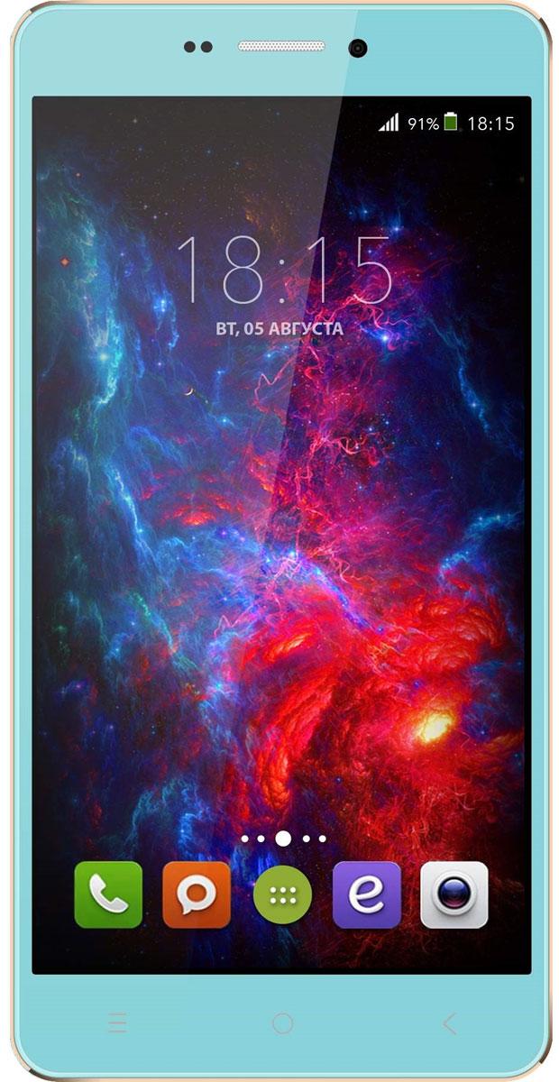 BQ 5515 Wide LTE, Tiffany Blue
